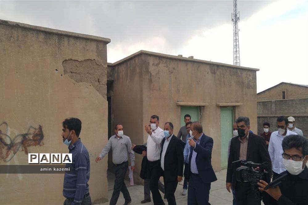 سفر یک روزه معاون وزیر و رئیس سازمان نوسازی و تجهیز مدارس کشور به داراب