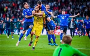 خلاصه فینال جام ملت های اروپا  انگلیس 1 (2) - ایتالیا 1 (3)/فیلم