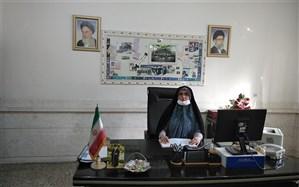 برگزاری مراسم عفاف وحجاب درمنطقه کهریزک
