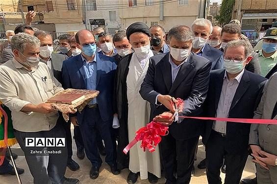 افتتاح  پروژههای عمرانی،فرهنگی در شهرستان ملارد