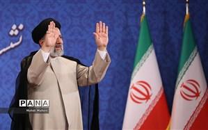 حضور هیات جمهوری آذربایجان در مراسم تحلیف رییسی
