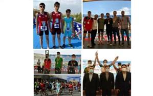 کسب 3 مدال نقره توسط سهگانهکاران چهارمحال و بختیاری در رقابتهای قهرمانی کشور