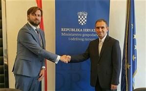 دیدار سفیر ایران با وزیر اقتصاد و توسعه پایدار کرواسی