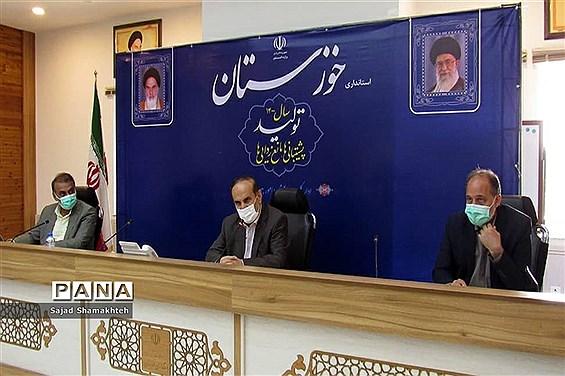 نشست خبری استاندار خوزستان با رسانه ها