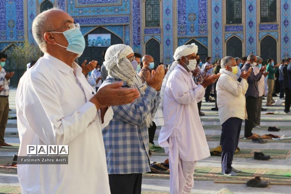 اقامه نماز عید سعید قربان در زابل