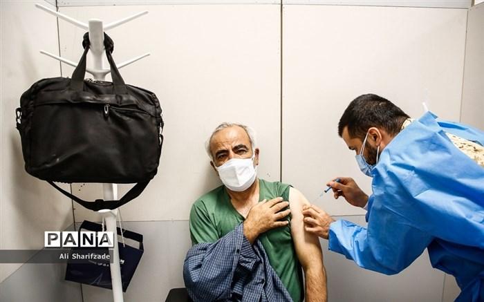 واکسیناسیون کرونا در ایران مال