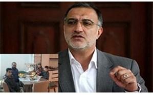 پیام تسلیت «زاکانی» به مناسبت درگذشت «محمد حسین فرج نژاد»