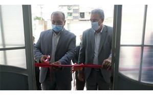 افتتاح سالن ورزشی درون مدرسه ای و بازدید از آموزشگاه استثنایی شهید امیدی شوشتر