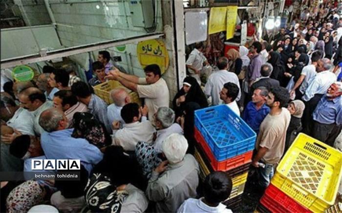 صفهای طولانی  خرید مرغ به کرمانشاه بازگشت