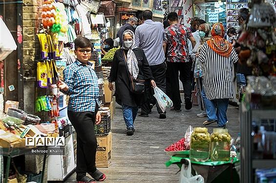 تهران در پیک پنجم کرونا-1