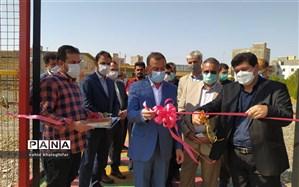 افتتاح زمین چمن مصنوعی و سالن بدنسازی مجموعه فرهنگی، ورزشی کارگران میانه