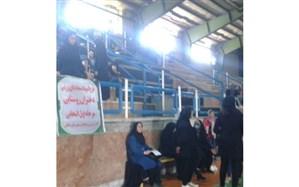 مرحله اول المپیاد استعدادهای ورزشی دختران روستایی ملکان برگزار شد