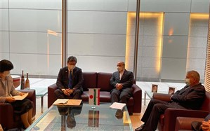 سلطانیفر با وزیر علوم و ورزش ژاپن دیدار کرد