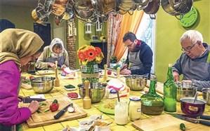 توریسم غذای  ایرانی بدون مشتری