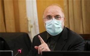 رییس مجلس در راس هیات پارلمانی وارد سوریه شد