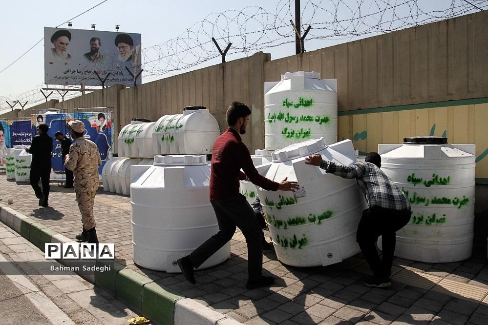 اعزام  150 مخزن آبرسانی به سمت خوزستان