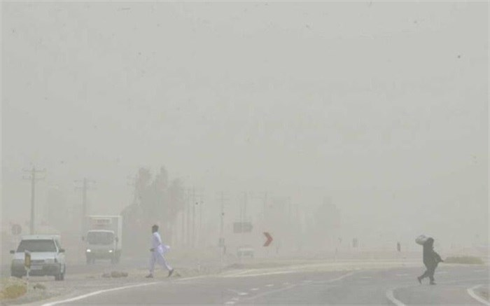 غلظت ذرات غبار در هوای زاهدان به 18 برابر حد مجاز رسید