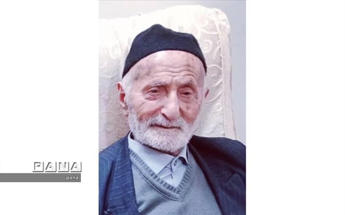 پیام تسلیت بخشدار الموت غربی در پی درگذشت پدر روحانی شهید ابراهیم مظفری