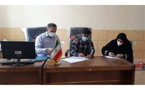 ایحاد تفاهمنامه احداث مدرسه ۶ کلاسه در بندر کلاهی شهرستان میناب