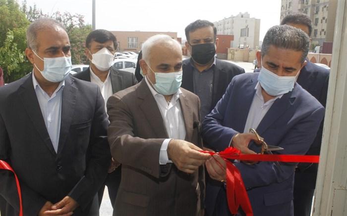 اولین مرکز تجمیعی واکسیناسیون کرونا فرهنگیان هرمزگان  افتتاح شد