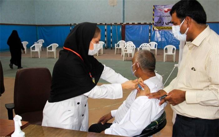 52 درصد افراد بالای 50 سال در سیستان و بلوچستان علیه کرونا واکسینه شدند