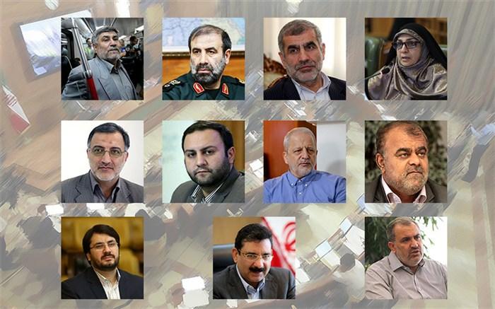 11 گزینه تصدی شهرداری تهران + سوابق