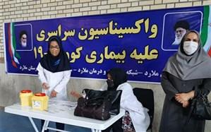 آغاز مرحله اول واکسیناسیون فرهنگیان در ملارد