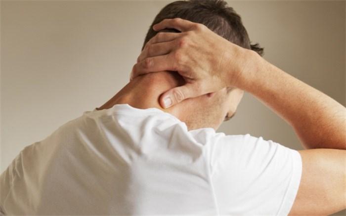 تسکین گردن درد