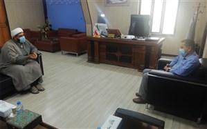 دیدار مسئول اتحادیه انجمنهای اسلامی دانشآموزان با مدیرکل آموزش و پرورش استان هرمزگان