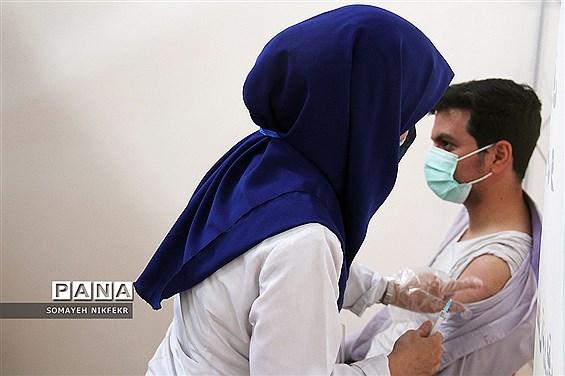 واکسیناسیون فرهنگیان آموزش و پرورش ناحیه یک شهرری
