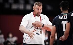 برای حذف تیم ملی والیبال از المپیک نباید کسی را مقصر دانست؛ از آلکنو انتظار بیشتری داشتیم