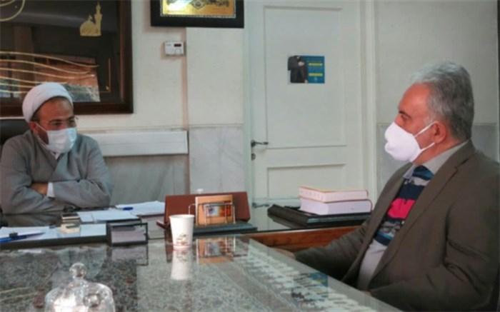 نشست مدیر مکسا شعبه اصفهان با مدیر کل اوقاف و امور خیریه استان اصفهان