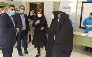 واکسیناسیون کووید ١٩ فرهنگیان  در شهرستان قدس