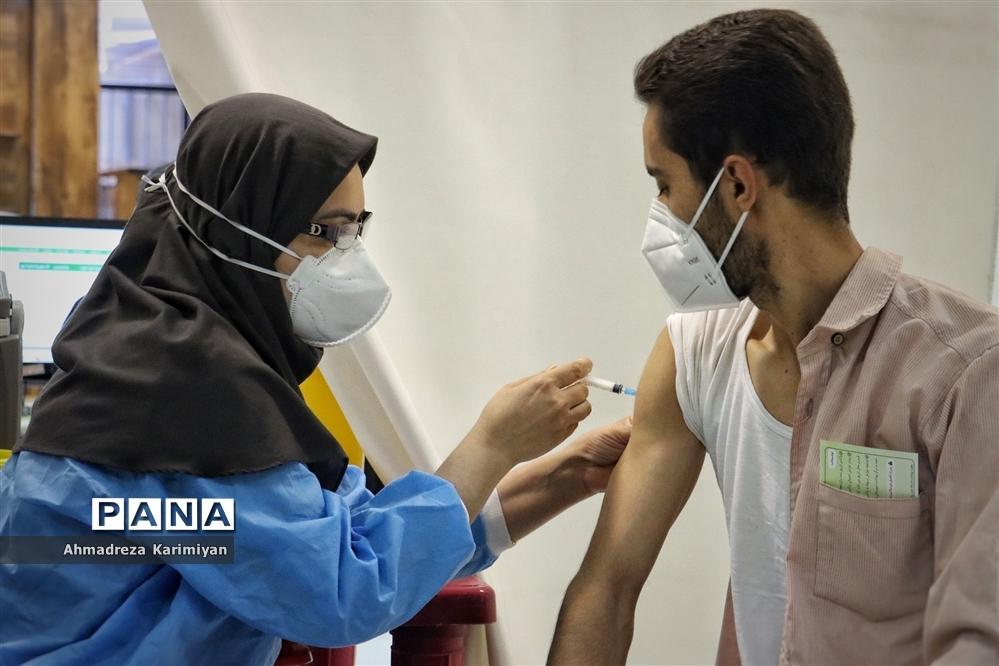 واکسیناسیون فرهنگیان در شیراز