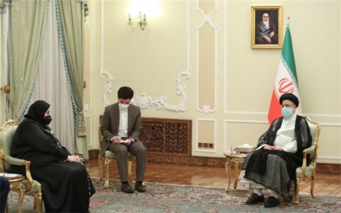 دیدار رئیسی با وزیر امور خارجه بوسنی و هرزگوین