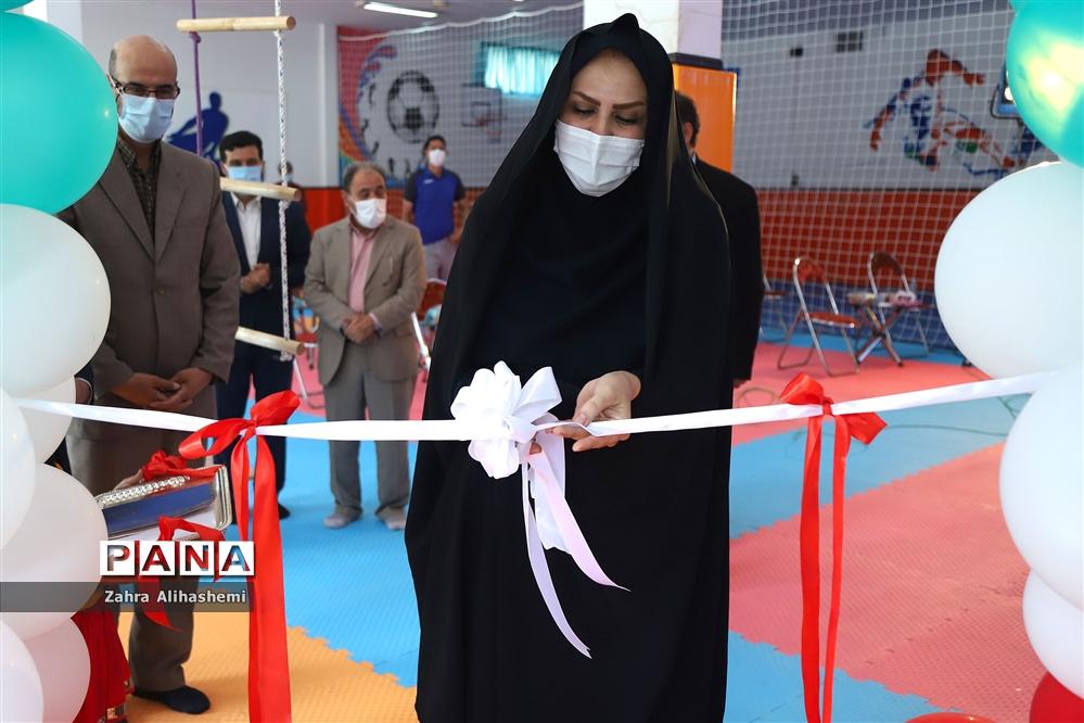 آیین افتتاحیه ۲۵ پروژه ورزشی در شهر تهران