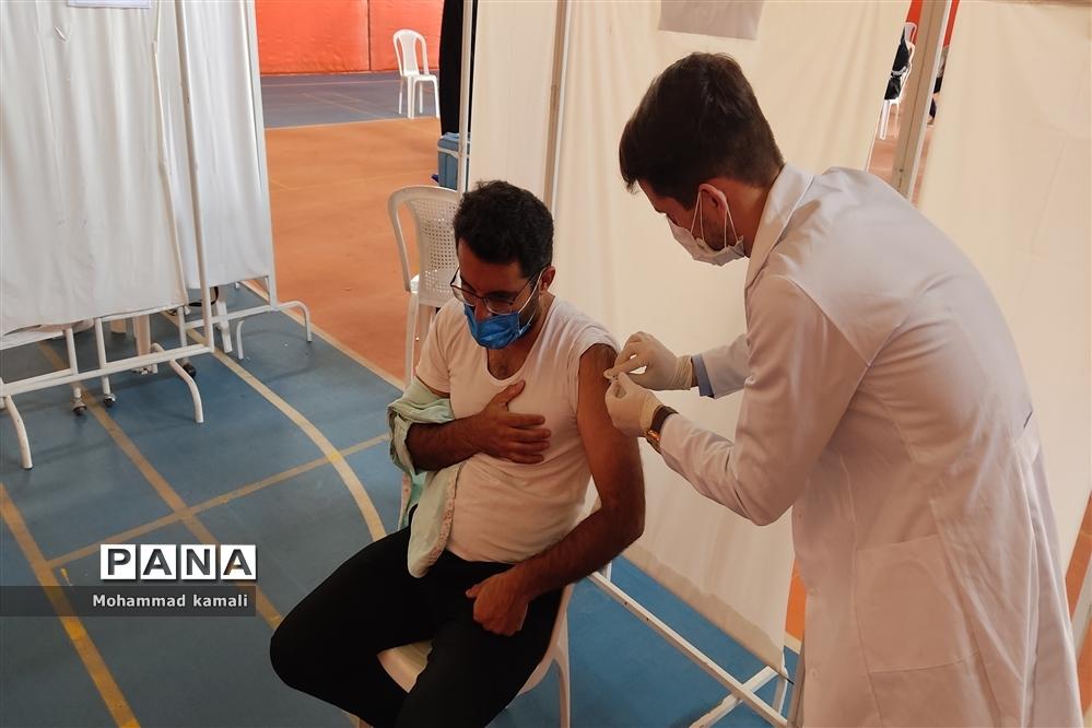 پایان روند واکسیناسیون فرهنگیان شهرستان محلات