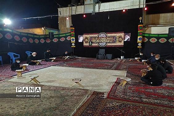 برگزاری مراسم عزاداری تاسوعای حسینی در سازمان دانش آموزی استان همدان
