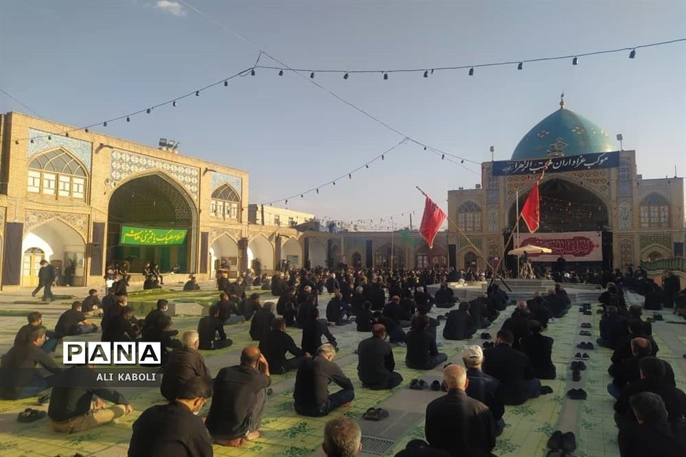 عزاداری روز عاشورای حسینی در زنجان با رعایت پروتکل های بهداشتی