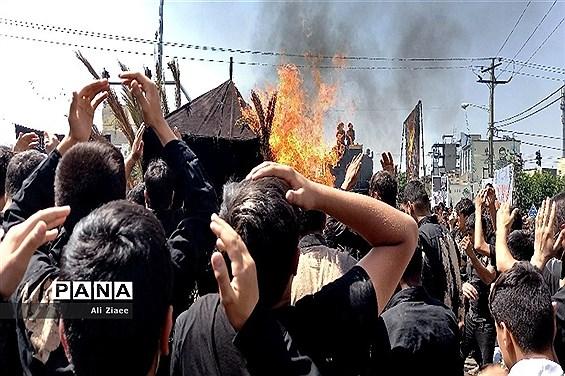 مراسم عزاداری عاشورای حسینی درمشهد