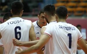 پادشاهی والیبال ایران بر آسیا دو سال دیگر تمدید شد