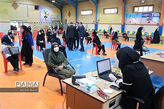 واکسیناسیون فرهنگیان در ارومیه
