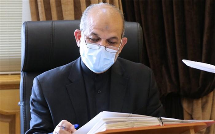 وحیدی وزیر کشور