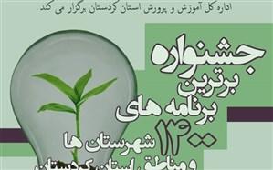 برگزاری جشنواره برترین برنامههای1400 شهرستانها و مناطق استان کردستان