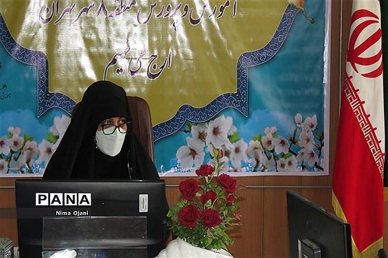 دیدار معاون پرورشی و فرهنگی اداره کل آموزش و پرورش تهران با همکاران حوزه پرورشی منطقه 8