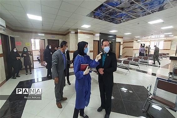 دومین قطار سلامت فرهنگیان در ایستگاه آموزش و پرورش ناحیه یک بهارستان