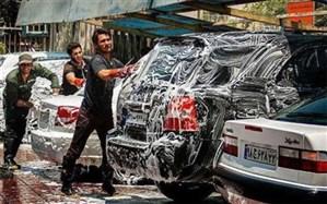 شستشوی خودروها در یک کارواش بسیار متفاوت/فیلم