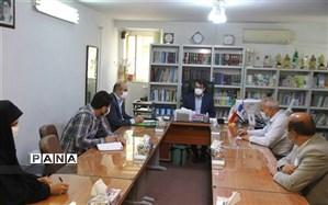 دیدار مدیرکل آموزش و پرورش خراسانشمالی با همکاران معاونت سوادآموزی