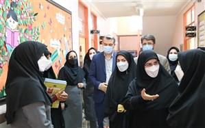 بازدید معاون آموزش ابتدایی وزارت آموزش و پرورش از دبستان چهارده معصوم ارومیه