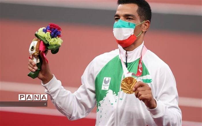 تجلیل از سعید افروز قهرمان طلایی پارالمپیک